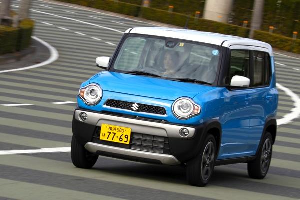 Suzuki Hustler Japan July 2014. Picture courtesy of autoc-one.jp