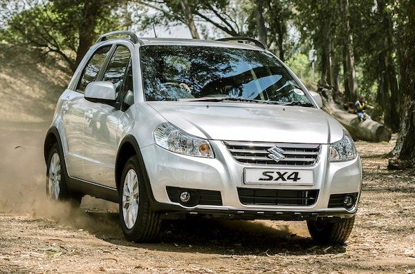 Suzuki SX4 Israel July 2014
