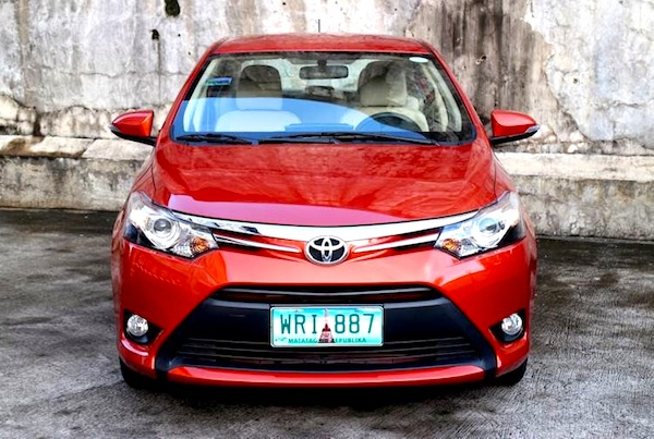 Toyota Vios Philippines July 2014. Picture courtesy of blogspot.com