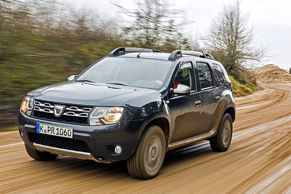 Dacia Duster Czech Republic 2014. Picture courtesy of autobild.de