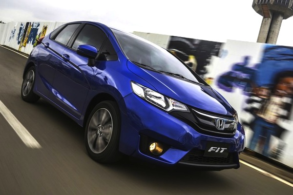Honda Fit Brazil August 2014. Picture courtesy of uol.com.br
