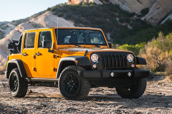 Jeep Wrangler USA June 2016. Picture courtesy of motortrend.com