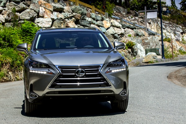 Lexus NX Singapore August 2014. Picture courtesy of motortrend.com