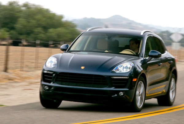 Porsche Macan Canada August 2014. Picture courtesy of motortrend.com