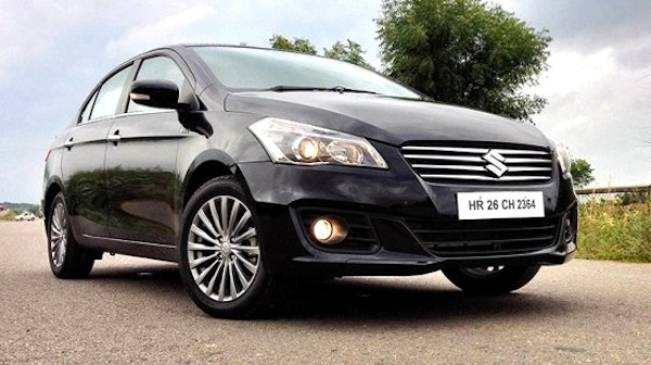 Suzuki Ciaz Uruguay August 2014. Picture courtesy of Top Gear