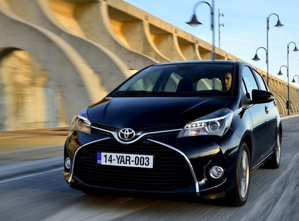 Toyota Yaris Greece August 2014