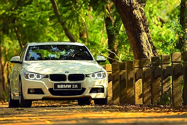 BMW 3 Series L China September 2014. Picture courtesy of auto.ifeng.com