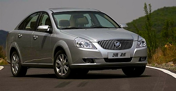 Buick Excelle China September 2014. Picture courtesty of modiauto.com.cn
