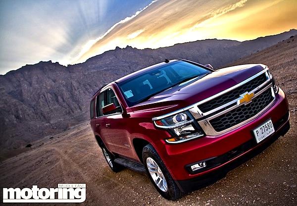 Chevrolet Tahoe Saudi Arabia August 2014. Picture courtesy of motoringme.com