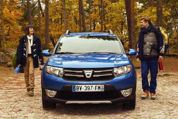 Dacia Sandero Stepway Romania June 2015