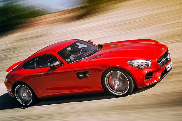 Mercedes AMG GT S Switzerland 2014