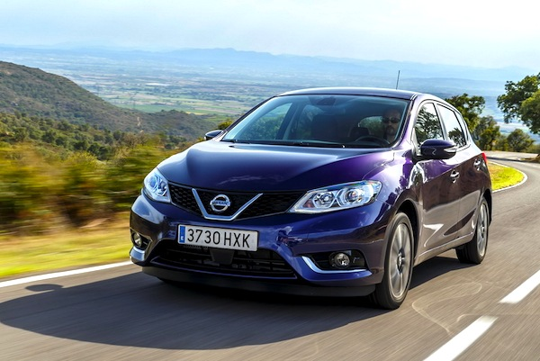 Nissan Pulsar Ireland September 2014. Picture courtesy of largus.fr