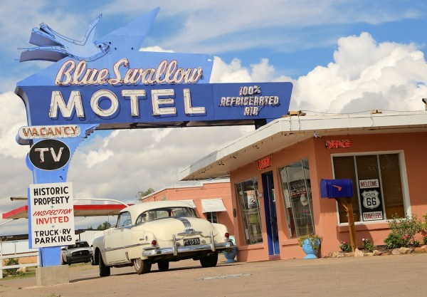 24. Blue Swallow Motel Tucumcari NM