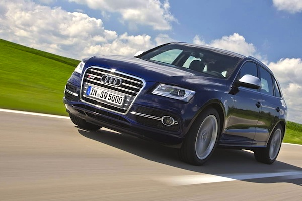 Audi Q5 World 2014. Picture courtesy of largus.fr