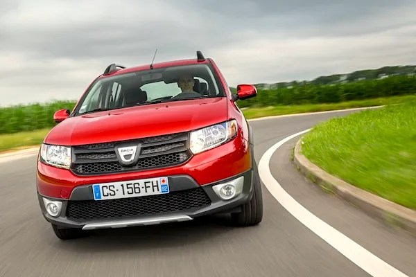 Dacia Sandero Ireland 2014. Picture courtesy of largus.fr