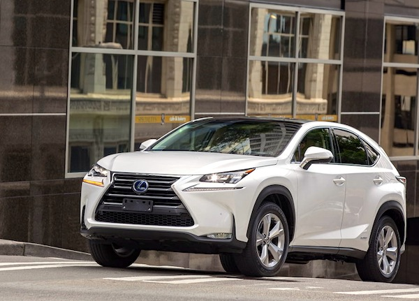 Lexus NX Sweden October 2014. Picture courtesy of largus.fr