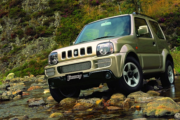 Suzuki Jimny Latvia October 2014. Picture courtesy instacarmodels.com