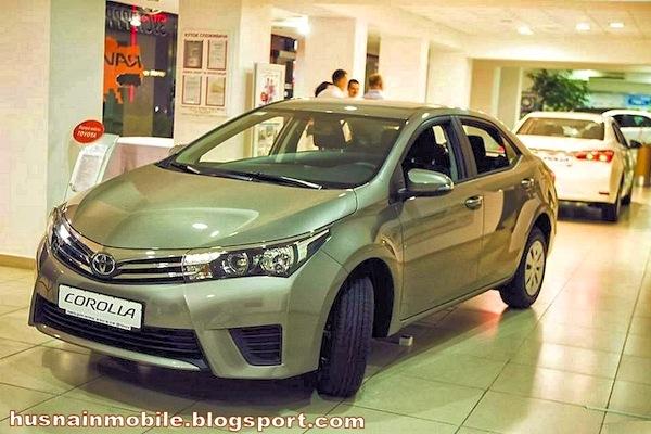 Toyota Corolla Pakistan October 2014