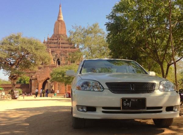 2. Toyota Mark II Bagan