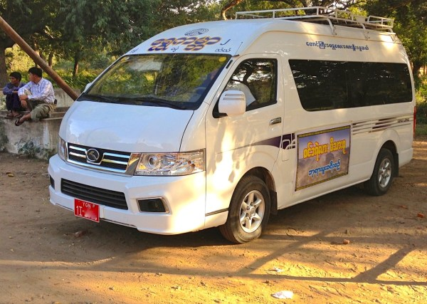 7. King Long Kingo Minivan Bagan 1