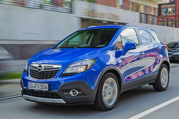 Opel Mokka Spain January 2016. Picture courtesy of autobild.de