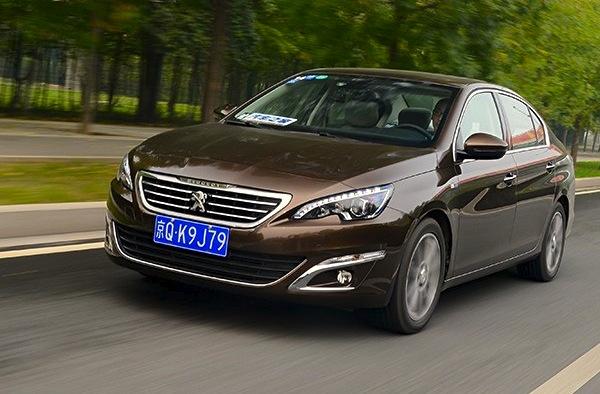 Peugeot 408 China November 2014. Picture courtesy of autohome.com.cn