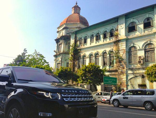Range Rover Evoque Yangon