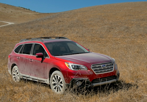 Subaru Outback USA November 2014. Picture courtesy of motortrend.com