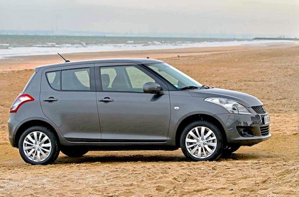 Suzuki Swift Uruguay November 2014. Picture courtesy of larevueautomobile.com