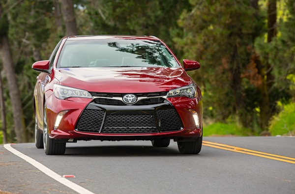 Toyota Camry USA November 2014. Picture courtesy of motortrend.com