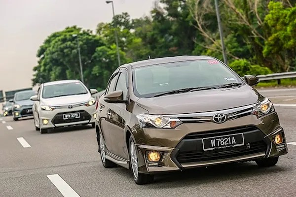 Toyota Vios Vietnam July 2016. Picture courtesy of livelifedrive.com