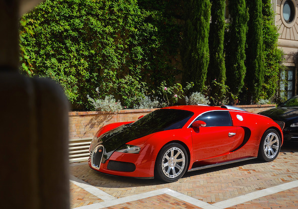 Bugatti Veyron Monaco 2014, Picture courtesy William Coubard