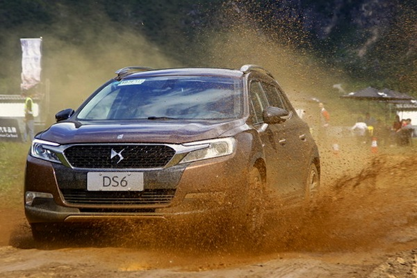 DS 6 China December 2014. Picture courtesy of auto.sohu.com
