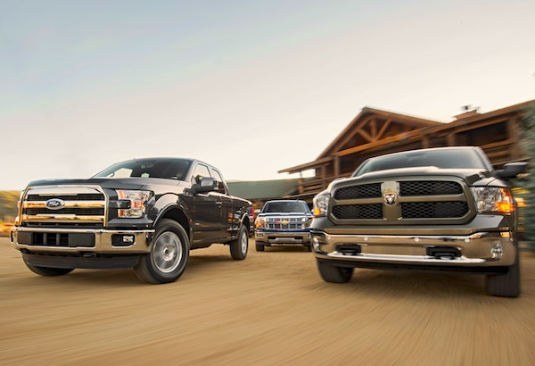 Ford F-150 Ram Canada June 2015. Picture courtesy of motortrend.com