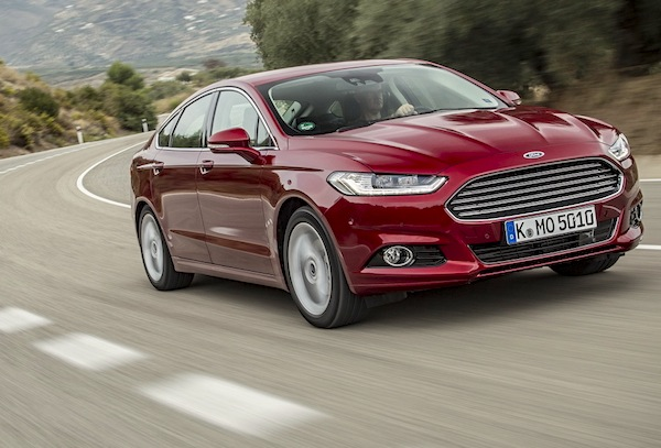 Ford Mondeo Poland June 2015. Picture courtesy of largus.fr