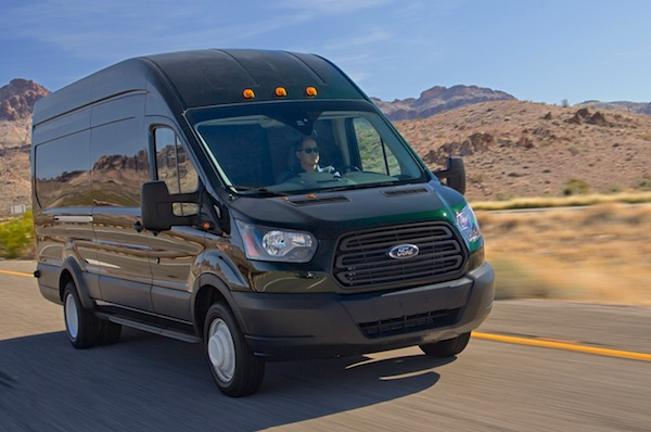 Ford Transit USA December 2014. Picture courtesy of motortrend.com
