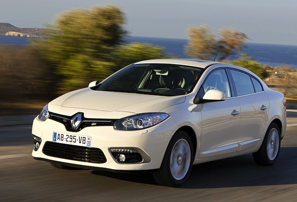Renault Fluence Turkey February 2016