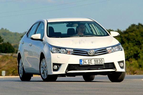Toyota Corolla 2015. Picture courtesy of otomobil.com.tr