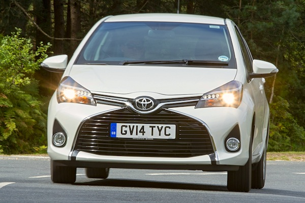 Toyota Yaris Finland May 2015