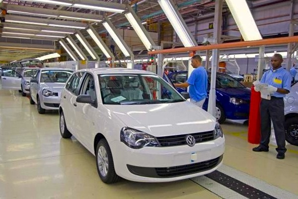 VW Polo Vivo South Africa August 2015. Picture courtesy of claremont.co.za