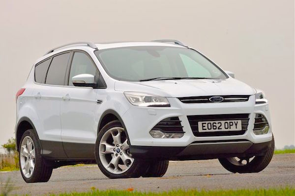 Ford Kuga UK May 2016. Picture courtesy honestjohn.co.uk