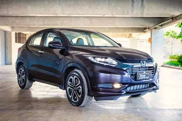 Honda HR-V Thailand March 2015. Picture courtesy autobild.co.id
