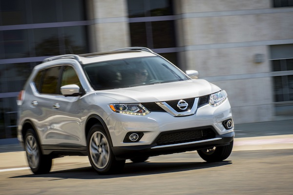 Nissan Rogue Canada January 2015. Picture courtesy of motortrend.com