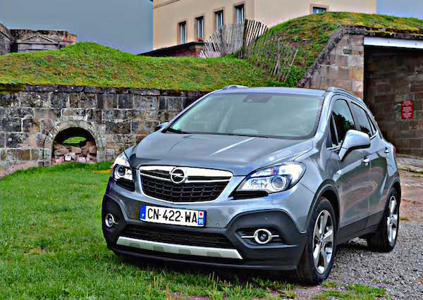 Opel Mokka Italy 2015. Picture courtesy larevueautomobile.com