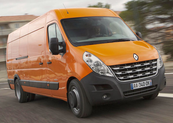 Renault Master Bulgaria January 2015