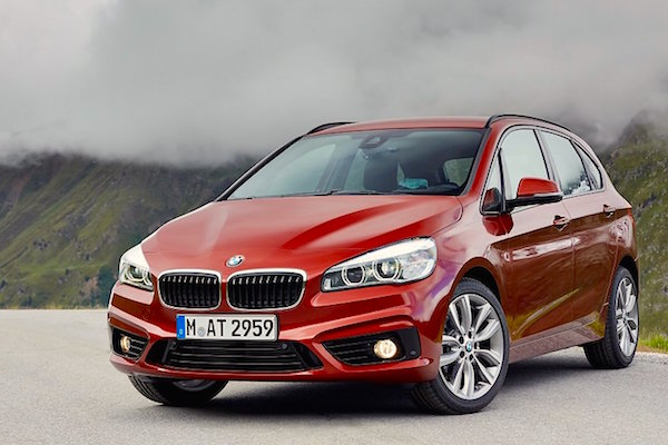 BMW 2 Series Active Tourer Hong Kong November 2015