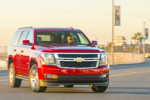 2015 Chevrolet Tahoe. (Photo by Brian Brantley/Brian Brantley Media, ©2015)