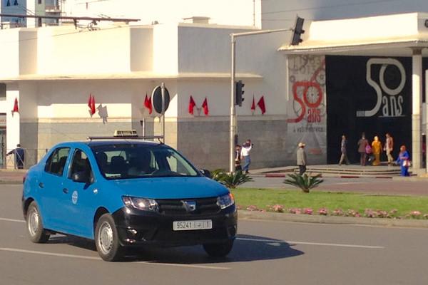 Dacia Logan Taxi Morocco 2014. Picture courtesy Flickr
