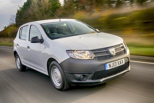 Dacia Sandero Europe July 2016. Picture courtesy honestjohn.co.uk