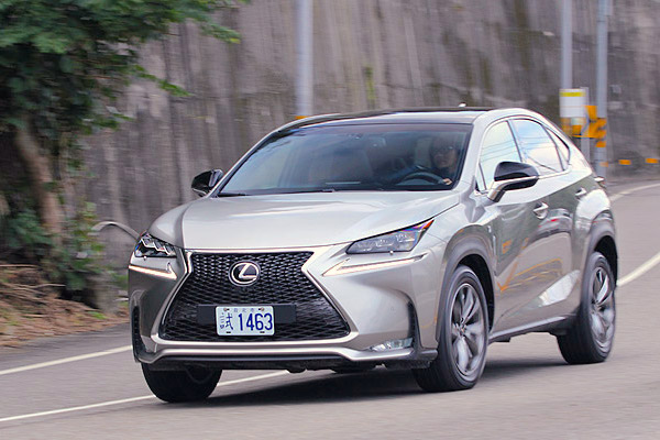 Lexus NX Taiwan February 2015. Picture courtesy u-car.com.tw